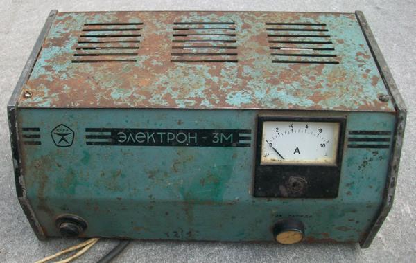 автомобильное зарядное устройство электрон-5 м.