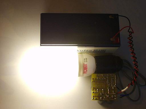 Преобразователь 12-220 из компьютерного БП для питания ЛДС.