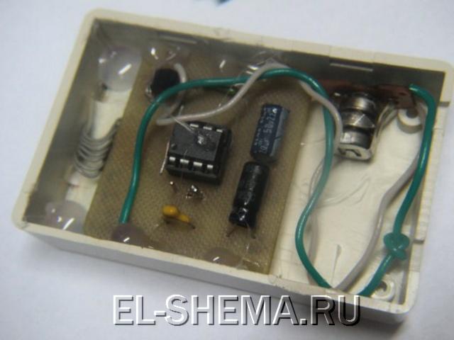 термометра на микроконтроллере PIC и дисплее от Nokia.